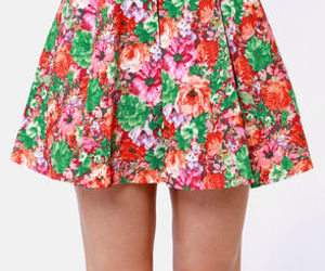 fashion, girly, and spring image