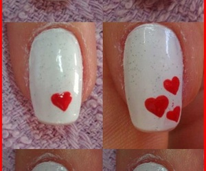 coracao, nails, and tutorial image