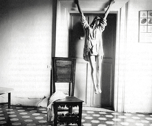 francesca woodman and black and white image