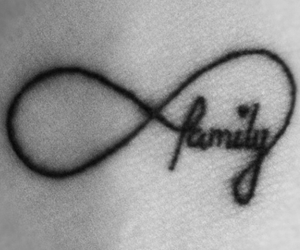 family, girl, and infinity image