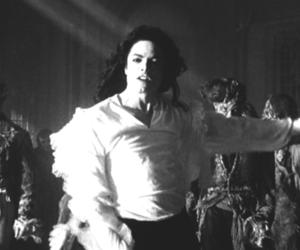 dance, ghosts, and michael jackson image