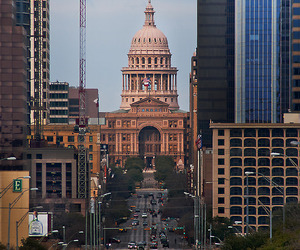 Austin, building, and street image