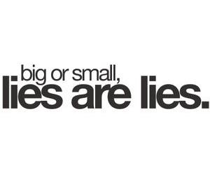 lies, quote, and text image