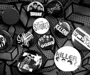 arctic monkeys, the killers, and bottons image