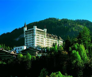 swiss alps and gstaad palace hotel image