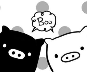pig and boo image