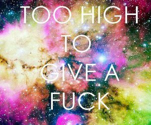 fuck, high, and life image