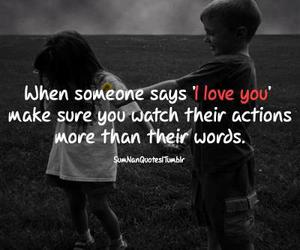 love, words, and Action image