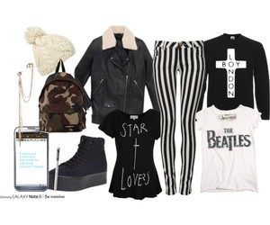 army, beatles, and black and gold image