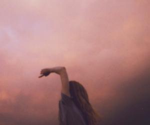 beautiful, heart, and sky image