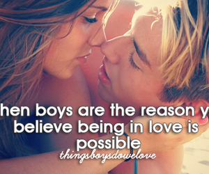 love, boy, and believe image