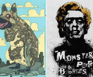 graffit, illustration, and street art image