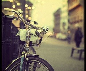 vintage, bike, and bicycle image