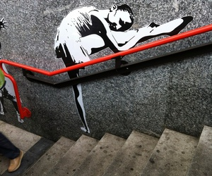ballet and street art image