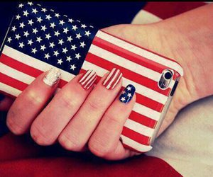 nails, usa, and iphone image