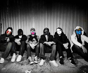 hollywood undead, band, and rock image