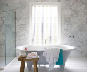 bathroom, interior design, and interiors image