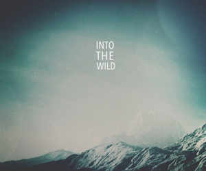 mountains, wild, and text image