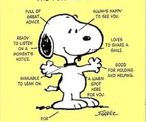 snoopy, friends, and perfect image