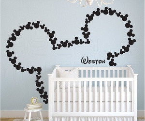 disney, baby, and mickey mouse image