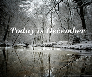 december and today image