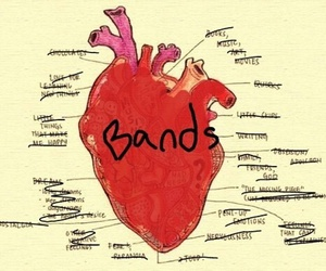 band and heart image