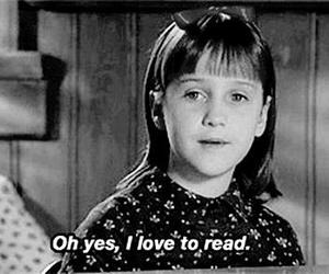book, matilda, and read image