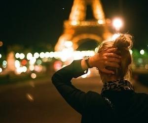 girl, paris, and blonde image