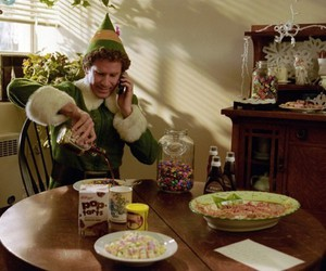 elf, syrup, and pop-tarts image