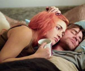 couple, eternal sunshine of the spotless mind, and jim carrey image