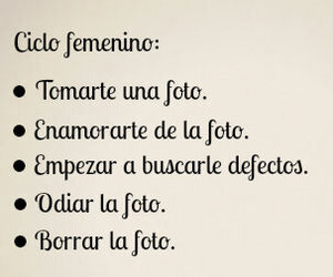 foto, frases, and mujeres image