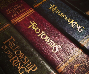 LOTR, reading, and the two towers image