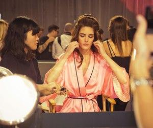 victoria secret backstage image