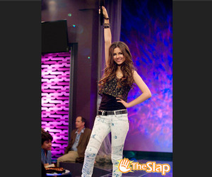 bra, victoria justice, and victorious image