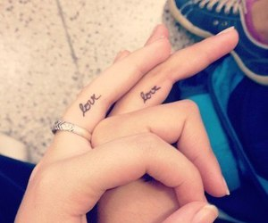 couples, tattoo, and cute image