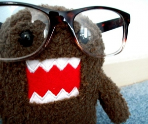 glasses, domo, and cute image