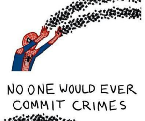 funny, spiderman, and spider image