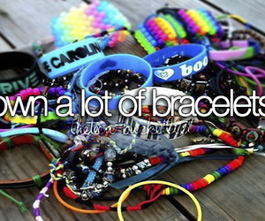 bracelet and quote image