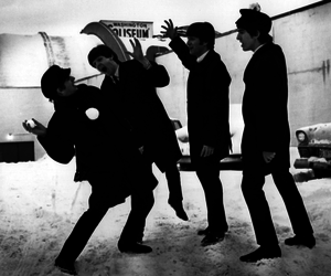 the beatles and @metalheart_ image