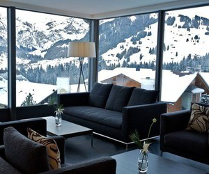 snow, winter, and luxury image