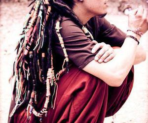 dreads and man image