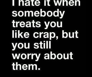 hate, quote, and worry image