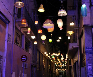 lights and Athens image