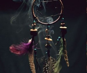 dream catcher, indian, and dreamcatcher image