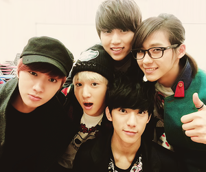 b1a4, kpop, and baro image