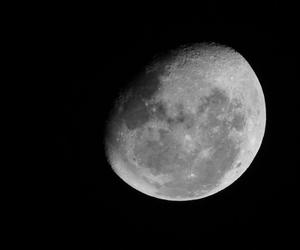 lindo, moon, and noite image