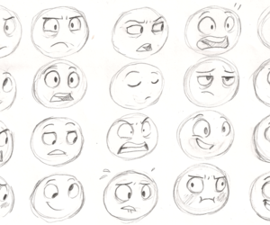 drawing and faces image