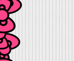 background, pink, and bows image