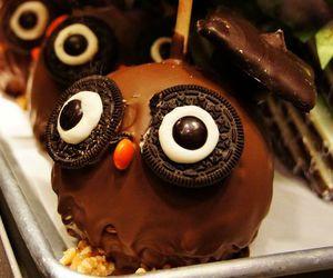 chocolate, food, and owl image