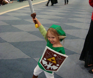cosplay, link, and cute image